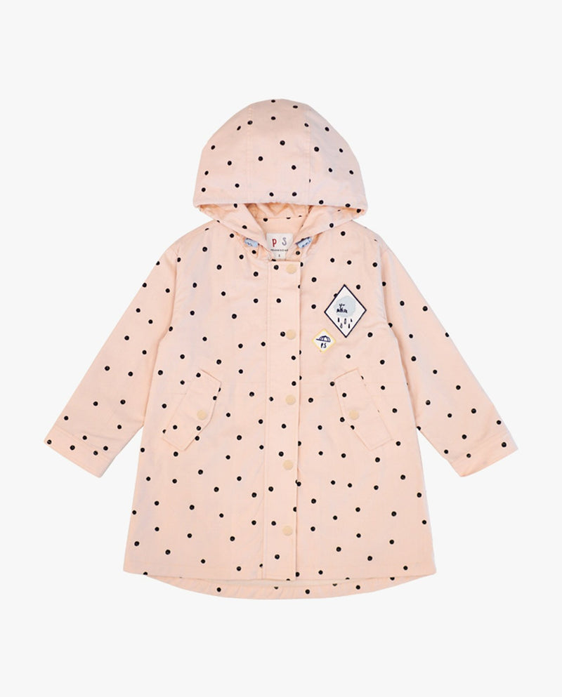 [Out of Stock] Lovely Pink Hooded Jacket