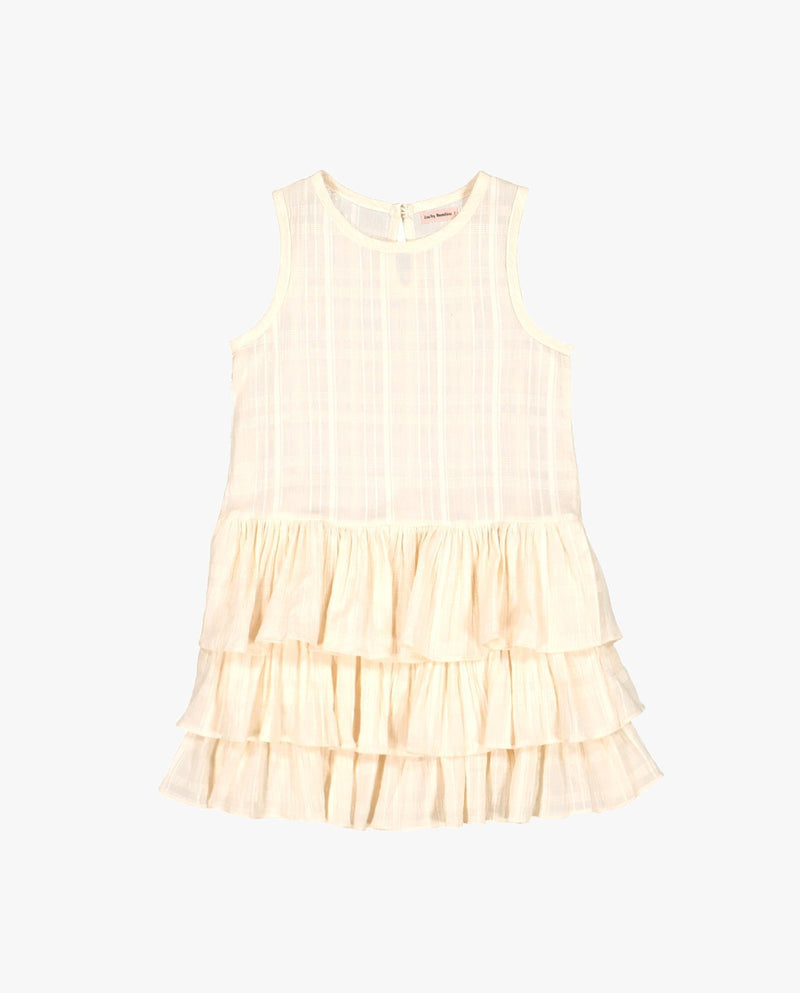 Tiered Cotton Dress