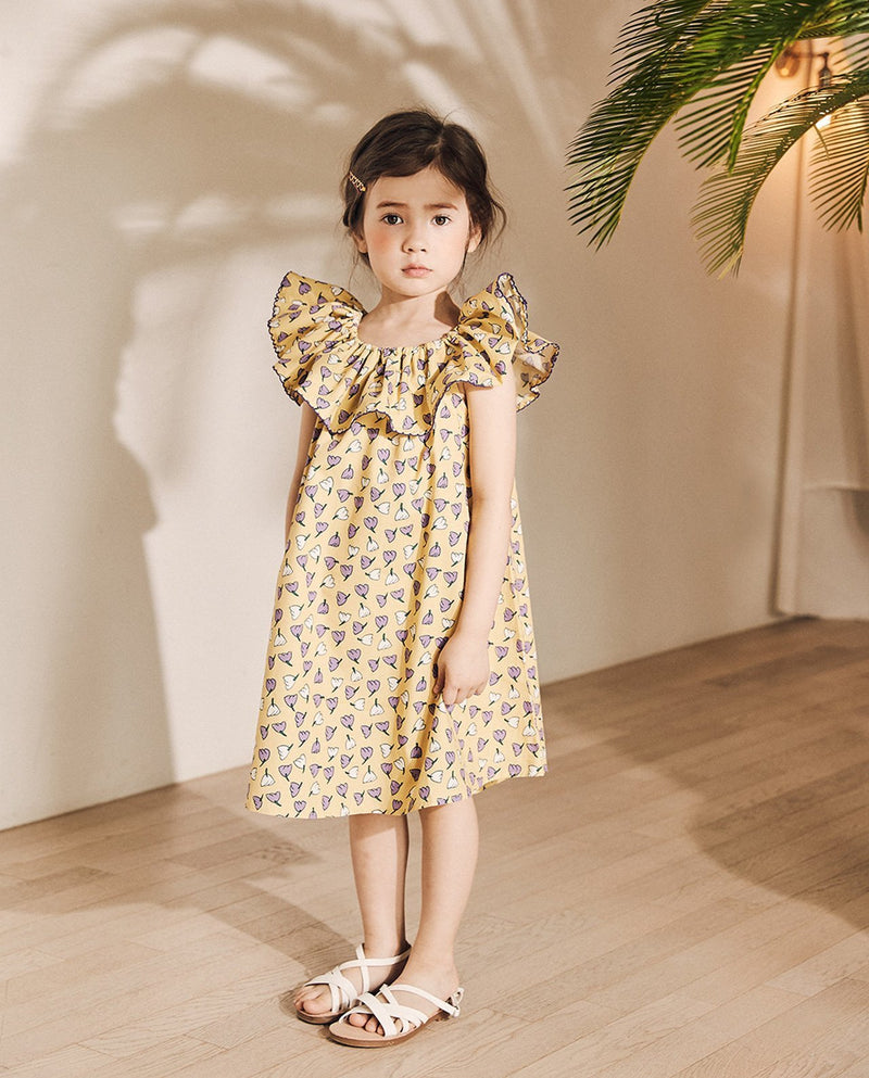 [Out of Stock] Tulip Ruffle Dress