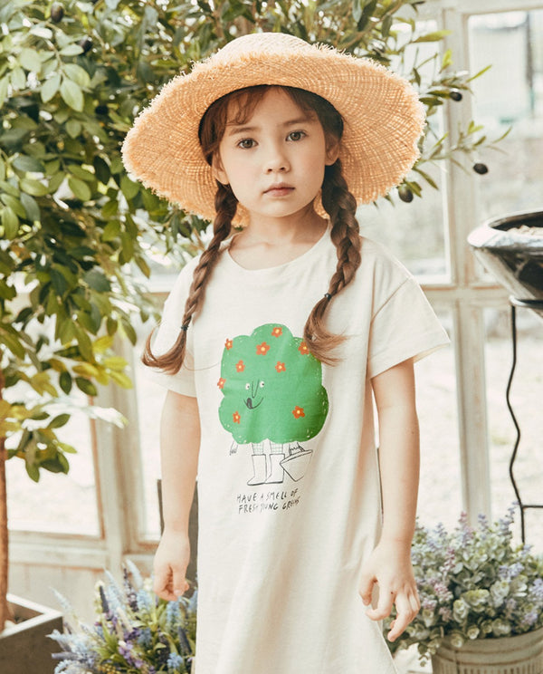 Growing Tree T-Shirt Dress