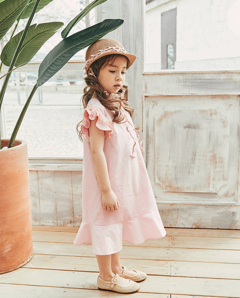 [Out of Stock] Pink Blossom Dress