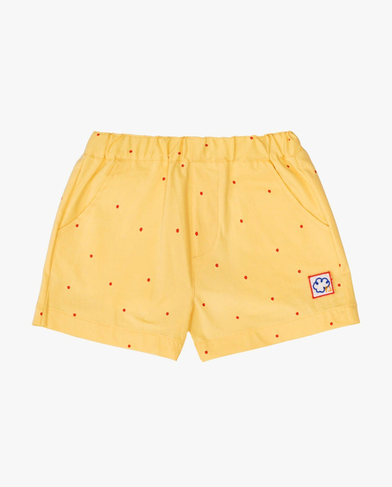 [Out of Stock] Strawberry Lemonade Dotted Shorts