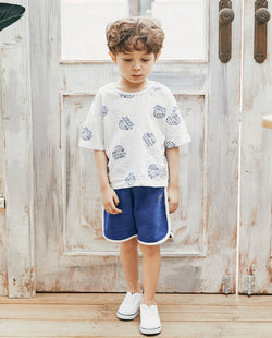 [Out of Stock] Lined Terry Cotton Shorts