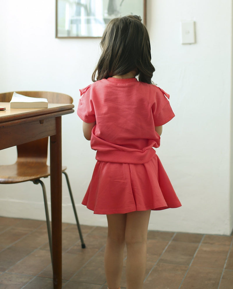 [Out of Stock] Pure Cotton Ruffle Two-piece