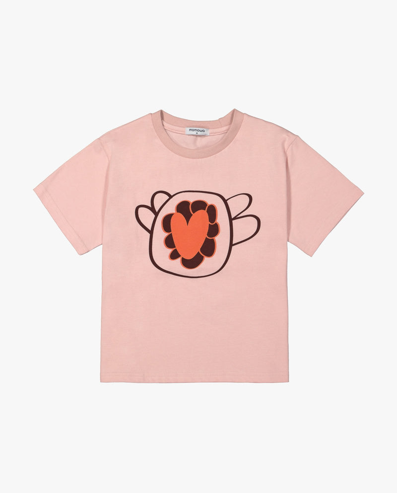 [Out of Stock]Flower Sketch T-Shirt