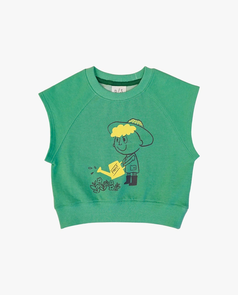 [Out of Stock] Little Farmer Sleeveless Top