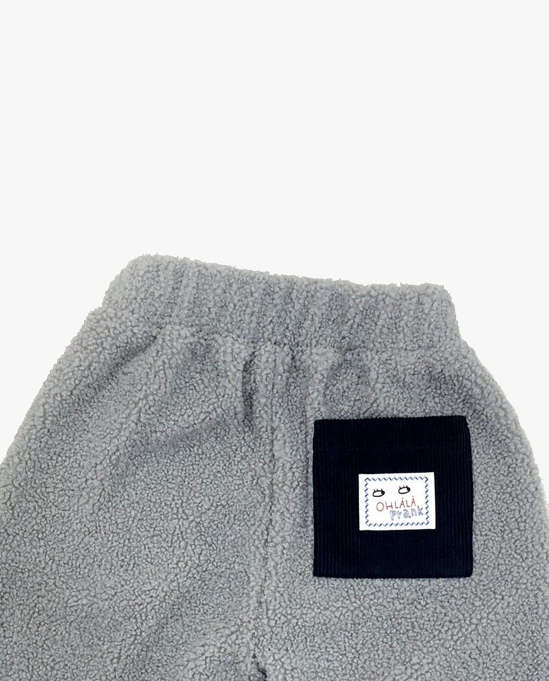 [Out of Stock] Ribbed Ankle Fleece Pants