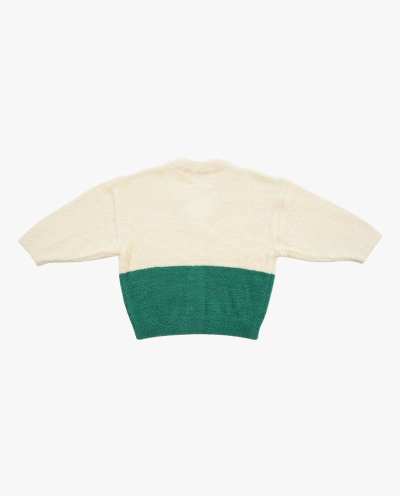 [Out of Stock] Color Block Parade Wagon Cardigan