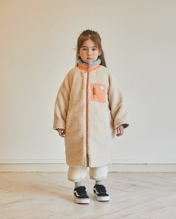 Reversible Fleece Coat on MooMooz