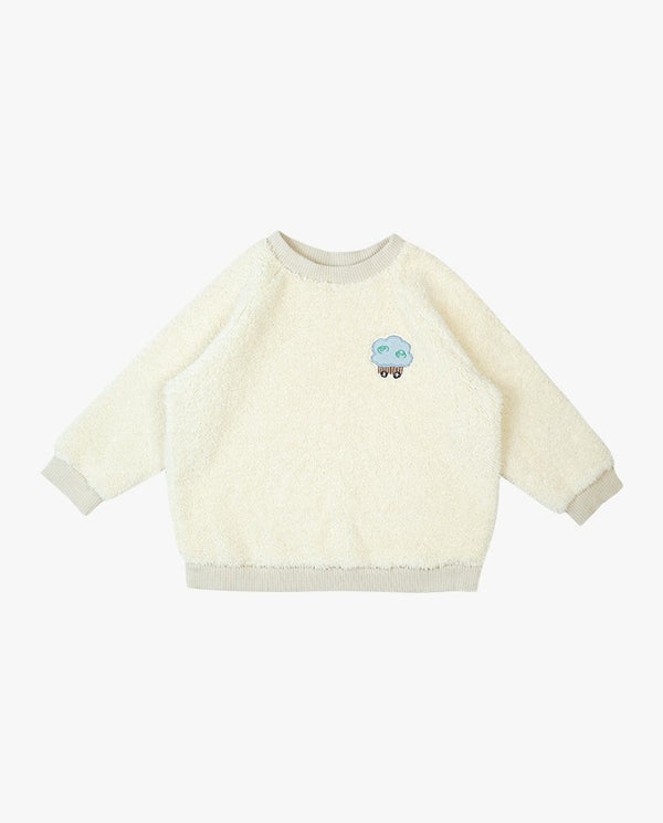 Fluffy Circus Cart Sweatshirt on MooMooz