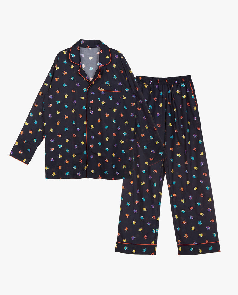[SET] Colorful Patterned Pajamas (Adults) on MooMooz