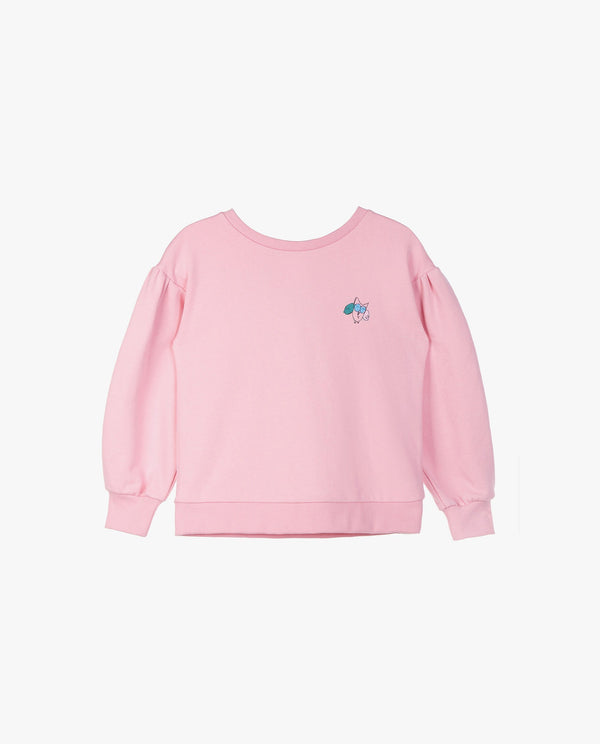 Bow Back Sweatshirt (Kids) on MooMooz