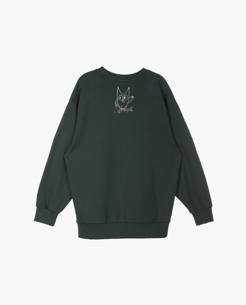 Back Embroidered Sweatshirt (Adults)