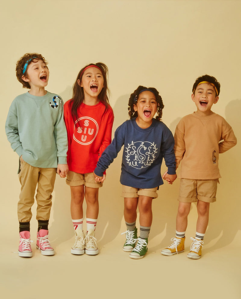 Lovely Swan Sweatshirt (Kids) on MooMooz