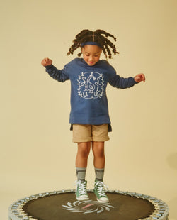 Swan and Vines Sweatshirt (Kids) on MooMooz