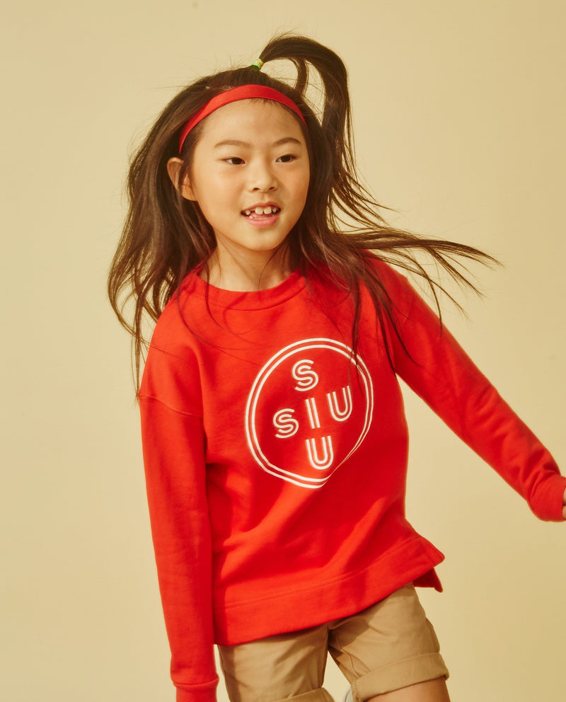 [Out of Stock]SIUSIU Logo Sweatshirt (Kids)