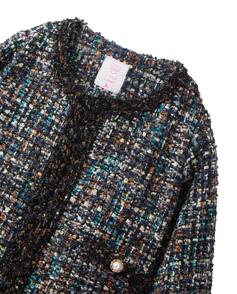 Deep Sea Tweed Jacket (Navy)