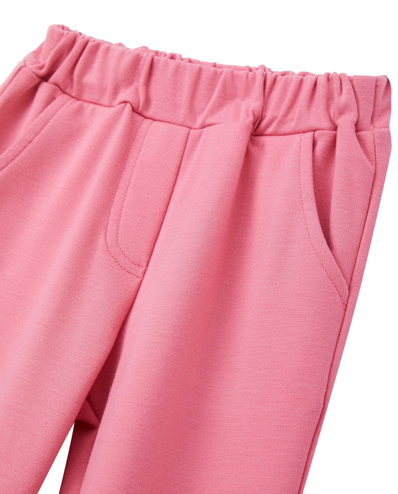 Ruffled Ankle Pants (Pink)