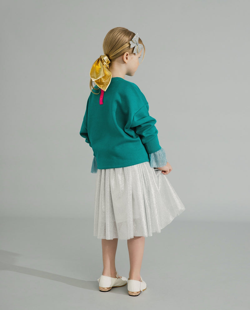 Twinkle Twinkle Little Star Sweatshirt (Green) on MooMooz