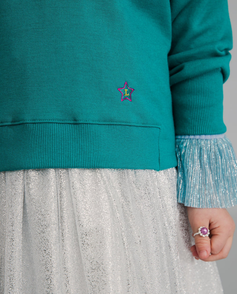 Twinkle Twinkle Little Star Sweatshirt (Green)