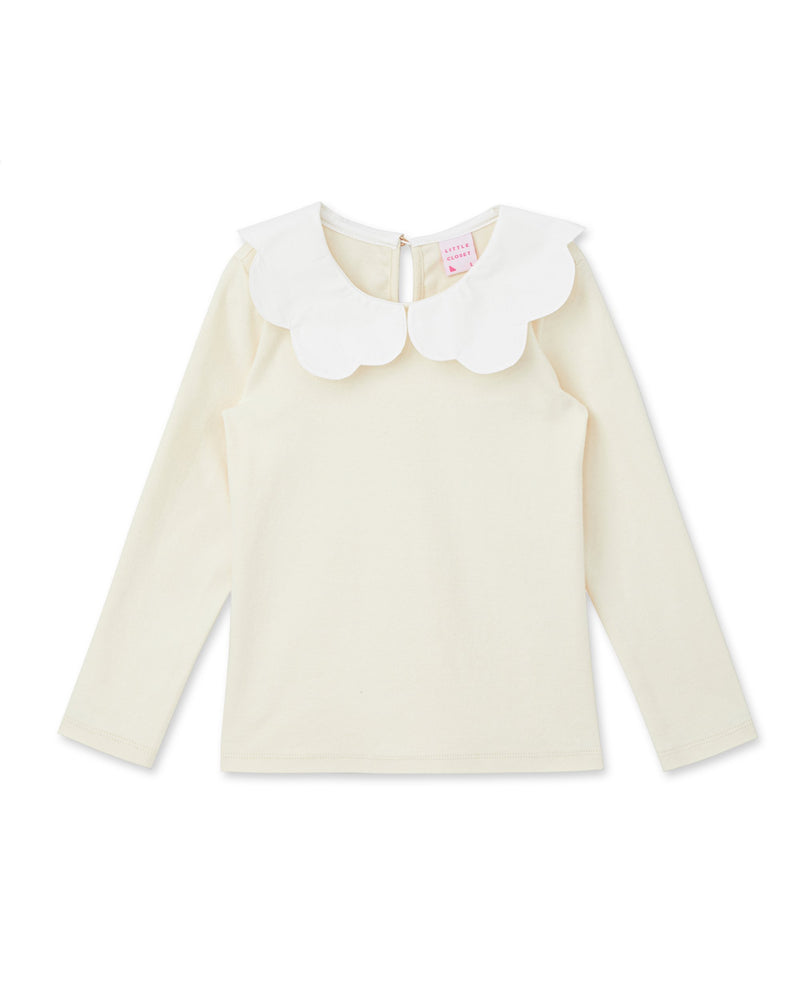 Cloud Collar T-Shirt (Ivory)
