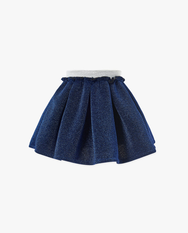 [Out of Stock] Glittery Cloud Pleated Skirt