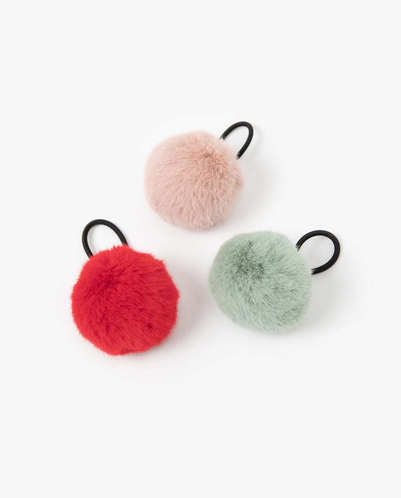 [Out of Stock] Big Fur Ball Hair Tie