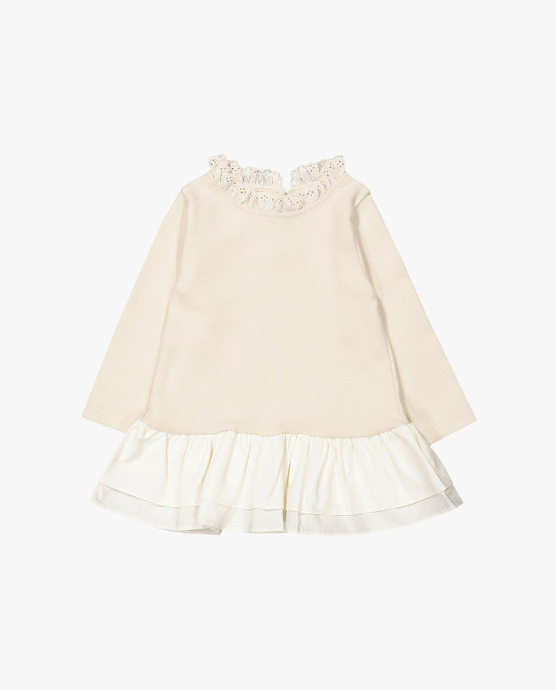 [Out of Stock] Double Ruffled Jersey T-Shirt