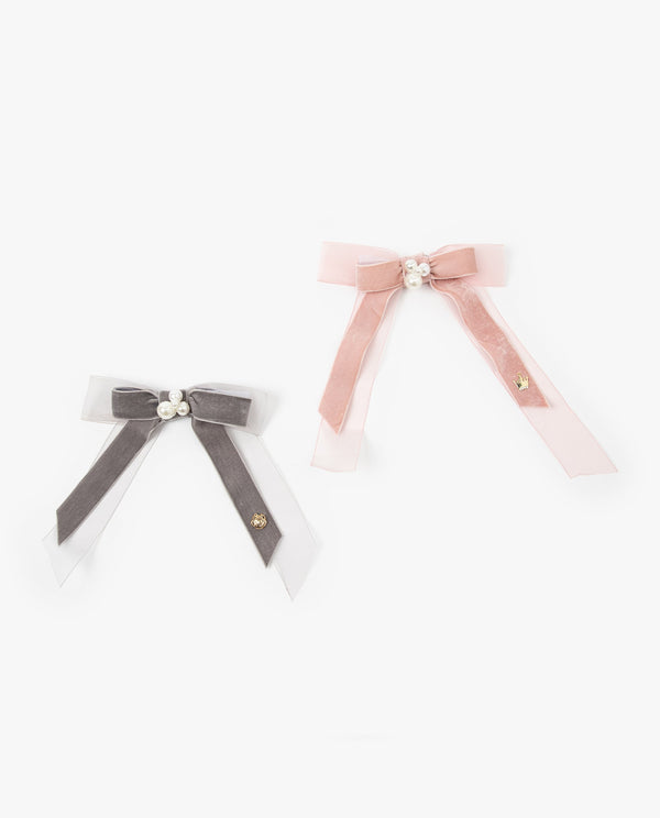 [Out of Stock] Double Bow Brooch