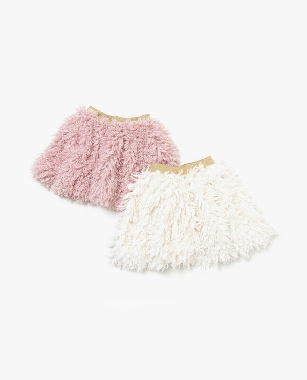 [Out of Stock] Boucle Yarn Mini Skirt