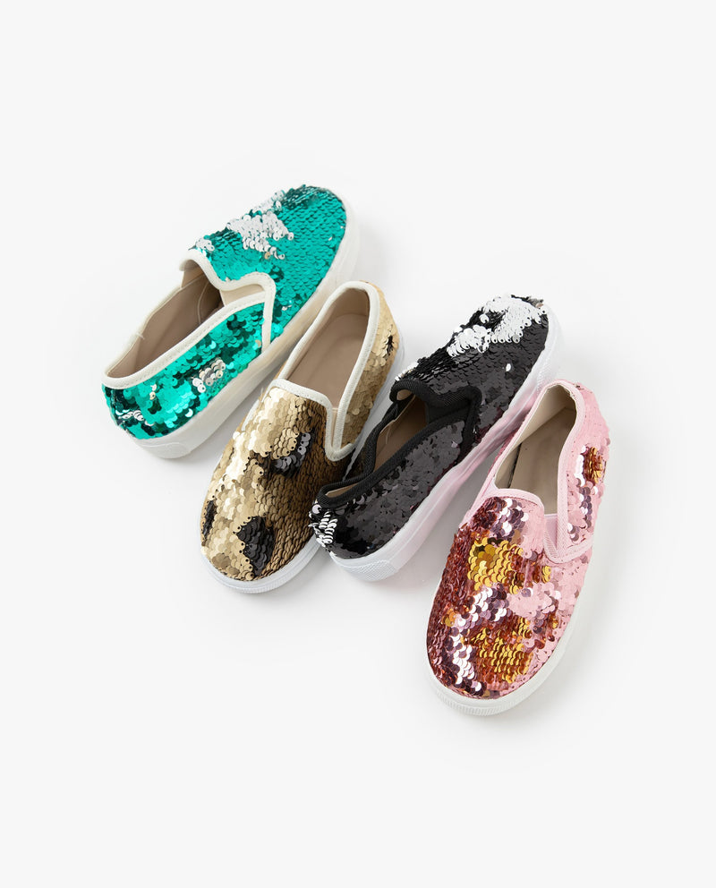 [Out of Stock] Sequin Flats
