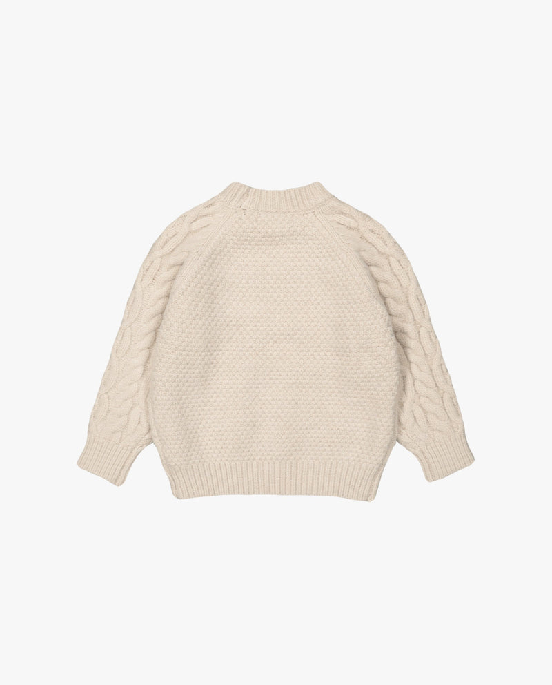 [Out of Stock] Cable Knit Raglan Sleeve Sweater