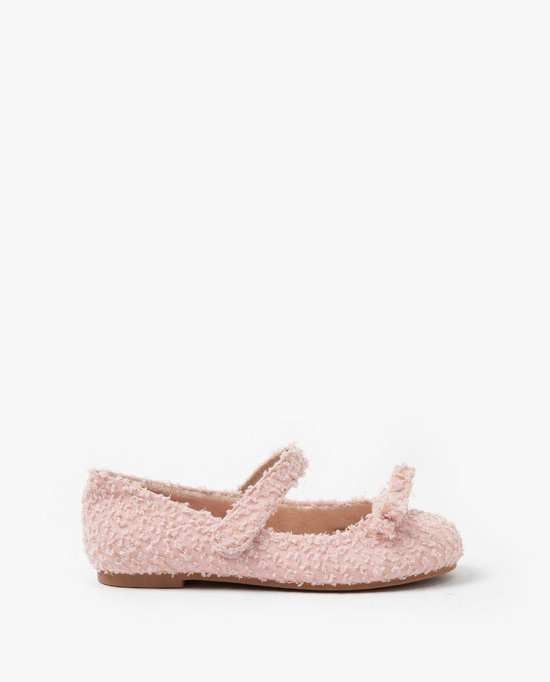 [Out of Stock] Tweed Mary Jane Flats