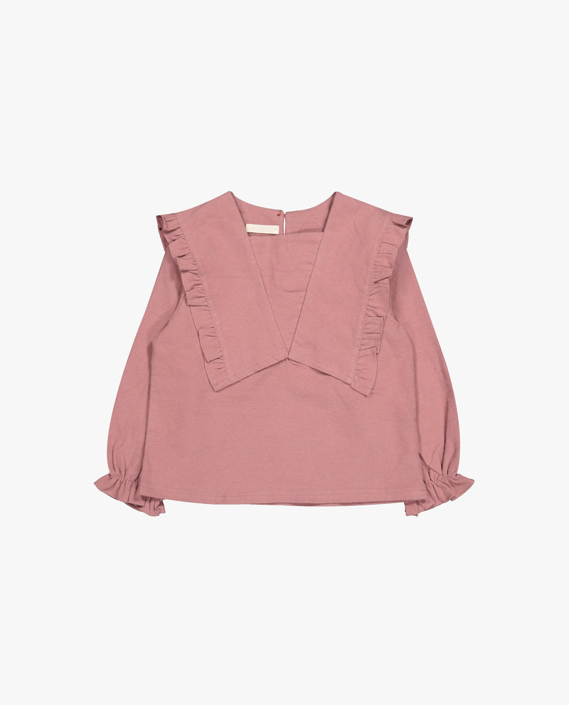 [Out of Stock] Neat Ruffled Blouse