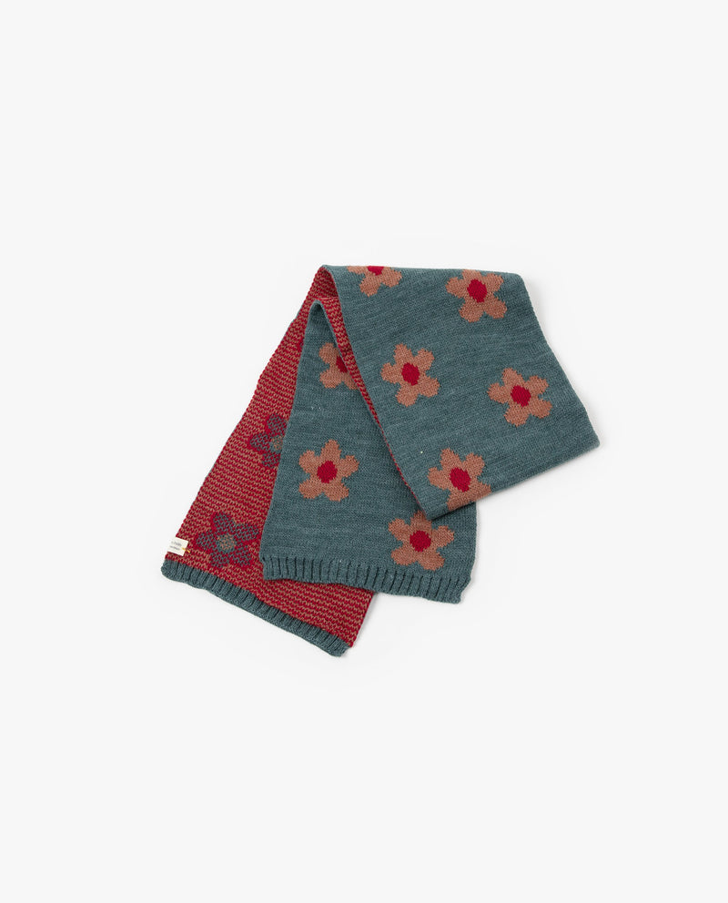 [Out of Stock]Camellia Patterned Scarf