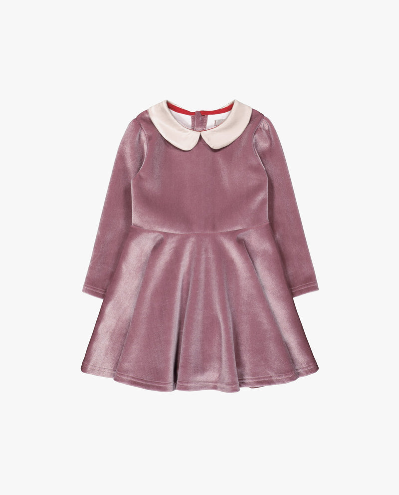 [Out of Stock] Glossy Velvet Dress
