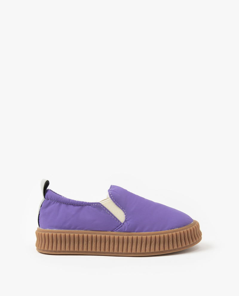 [Out of Stock] Ribbed Sole Slip-Ons