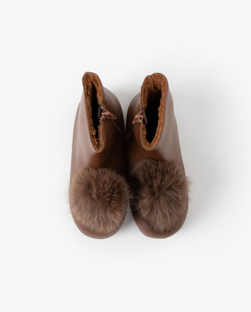 [Out Of Stock] Big Pom Pom Boots