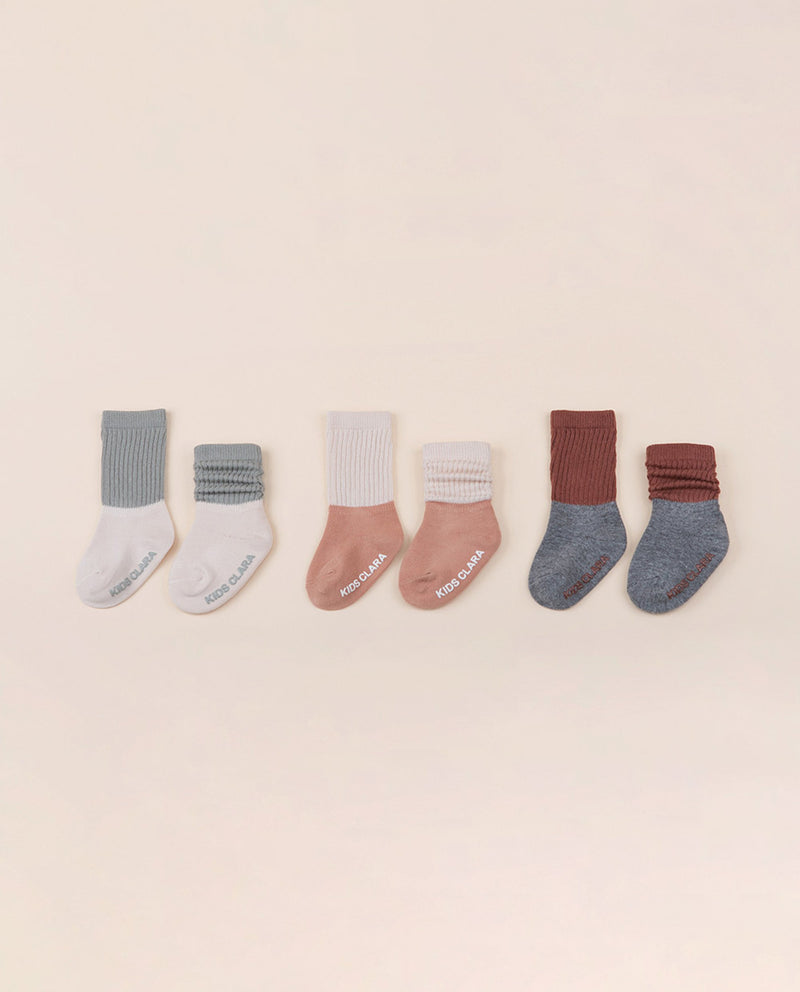 [Out of Stock] [SET] Beigc Winter Socks 3 In 1