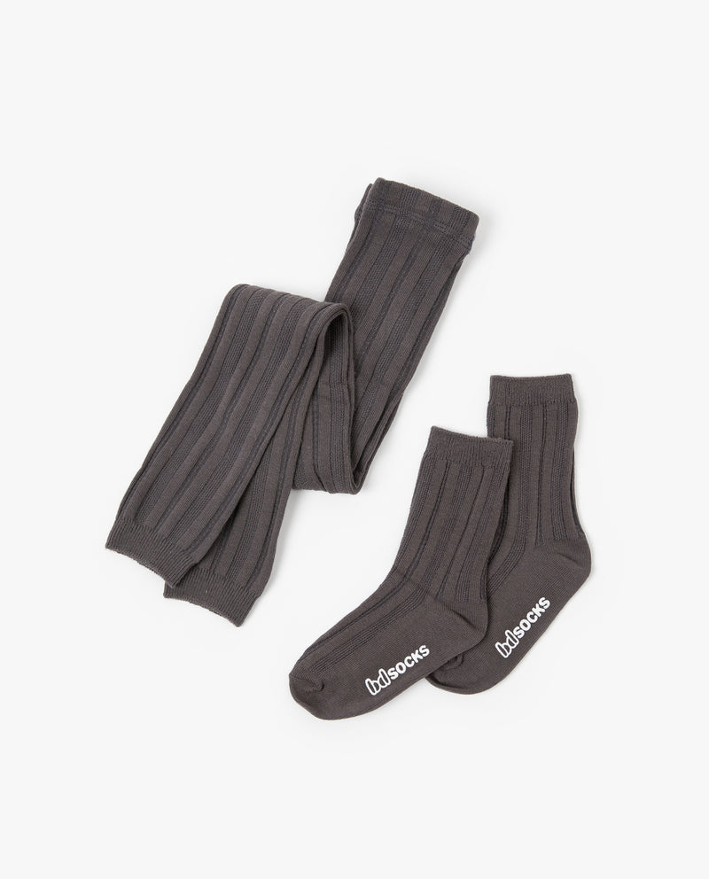 [SET] Ribbed Tights and Socks