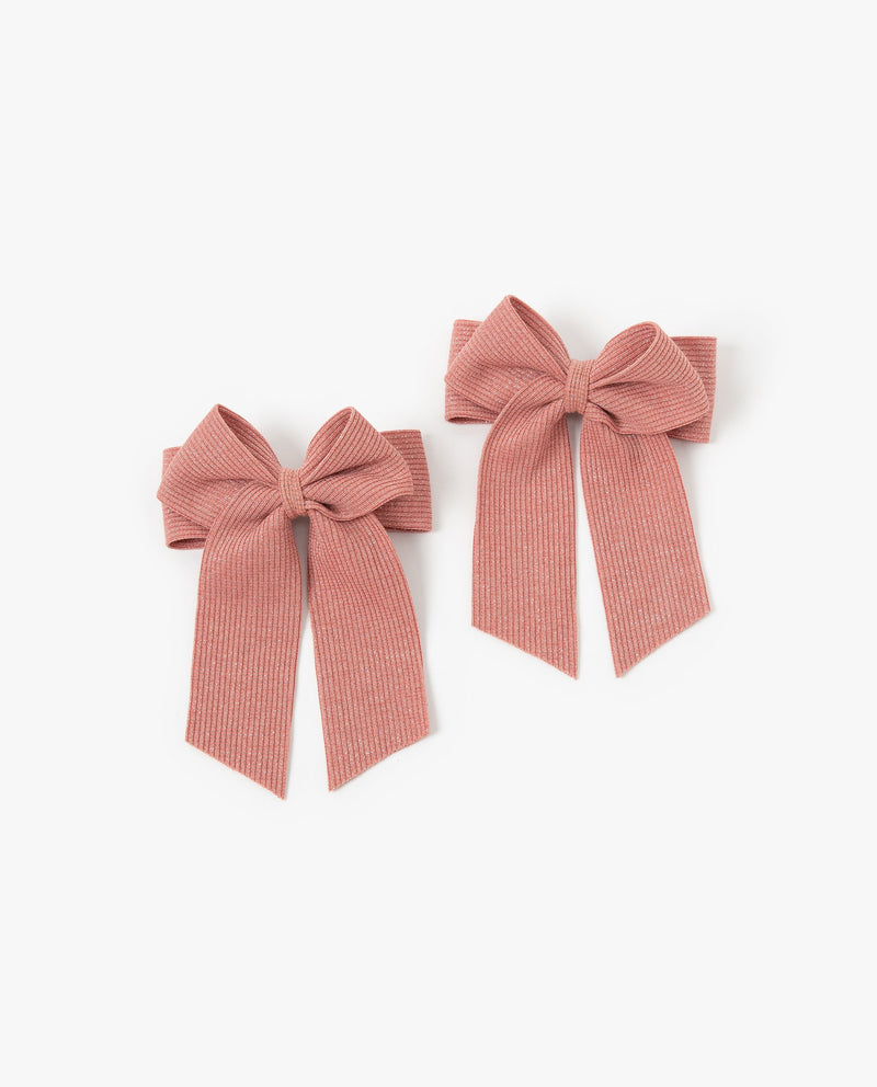 [Out of Stock] [SET-2pcs] Pearly Bow Hair Pins
