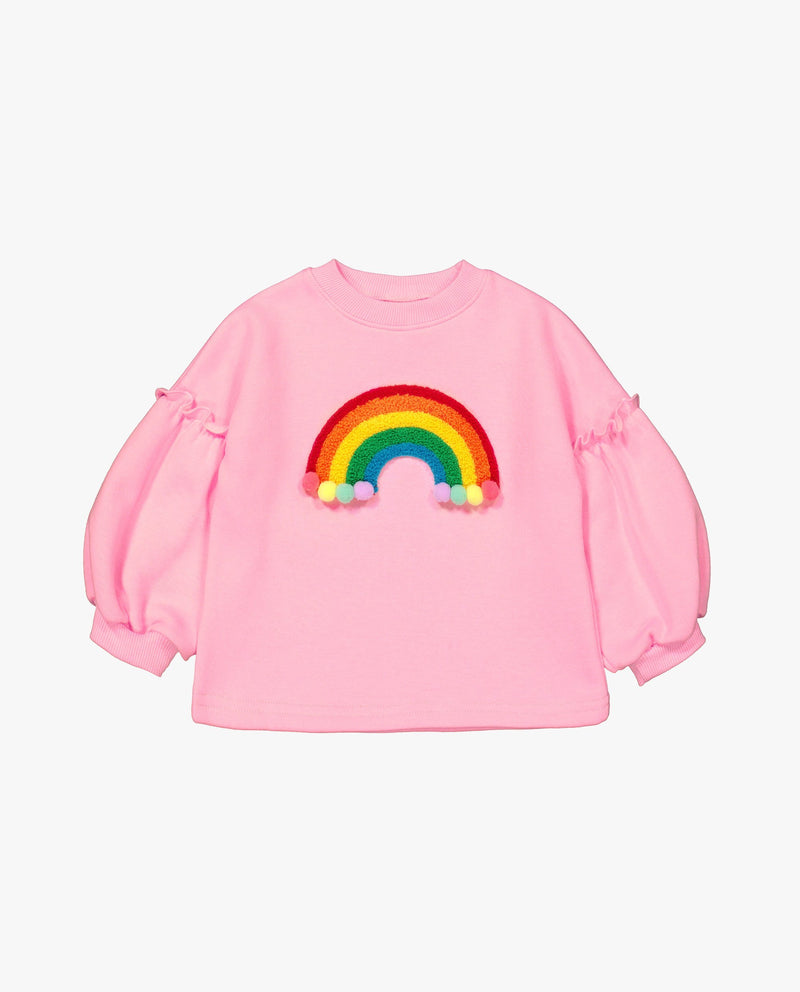 [Out of Stock]Rainbow Pom Pom T-Shirt