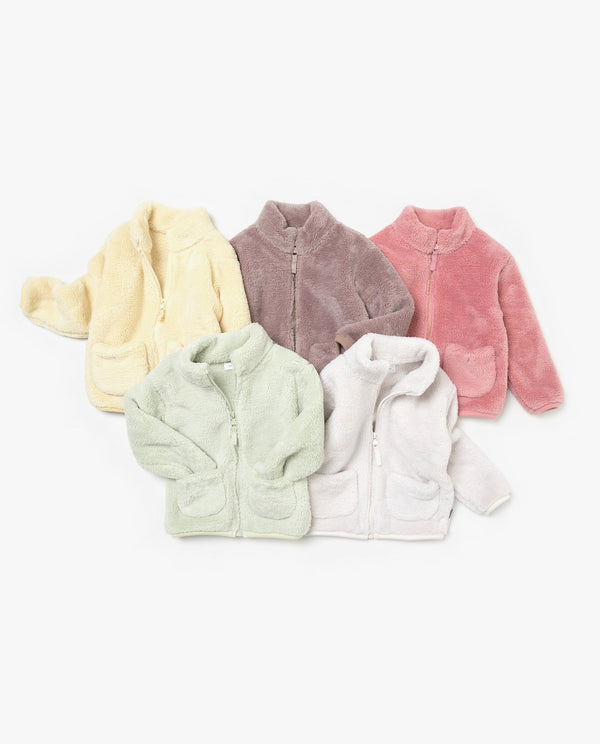 Neck Fleece Jacket