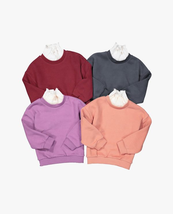 [Out of Stock] Knitted turtleneck Sweatshirt