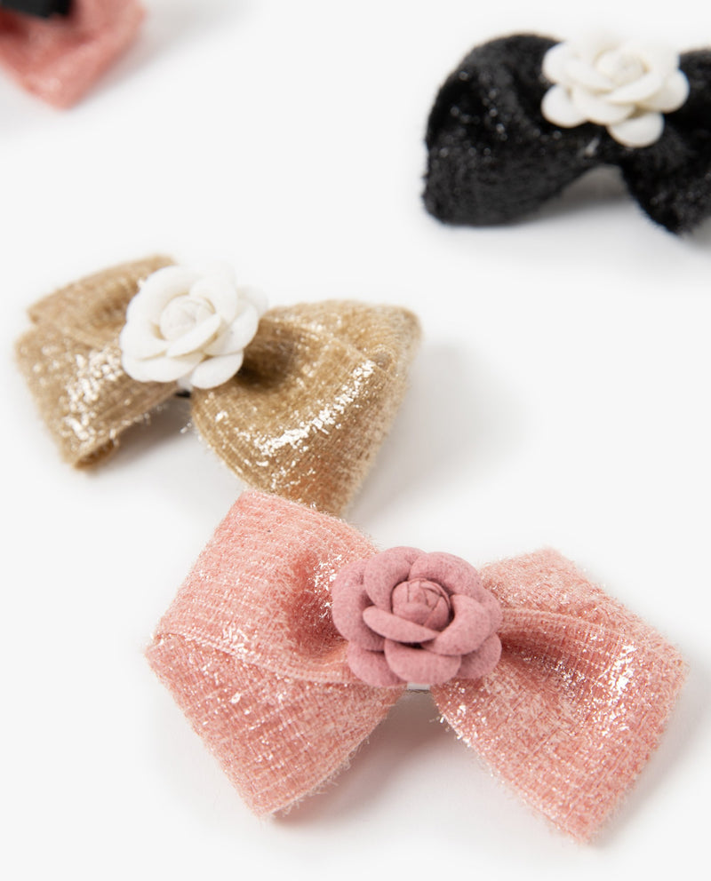 [Out of Stock] Camellia Bow Hair Pin