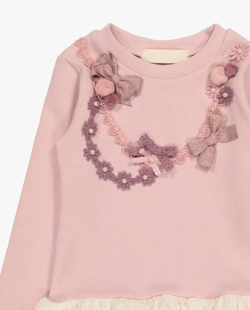 Necklace Embellished T-Shirt