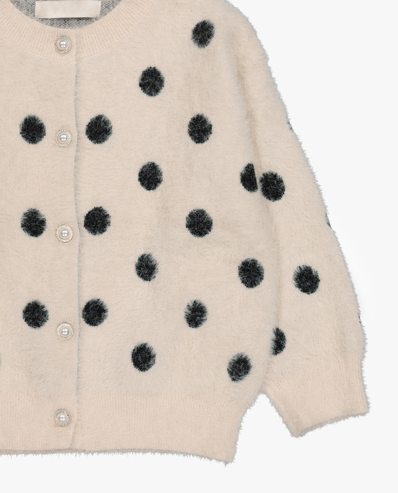 [Out of Stock] Polka Dot Cardigan