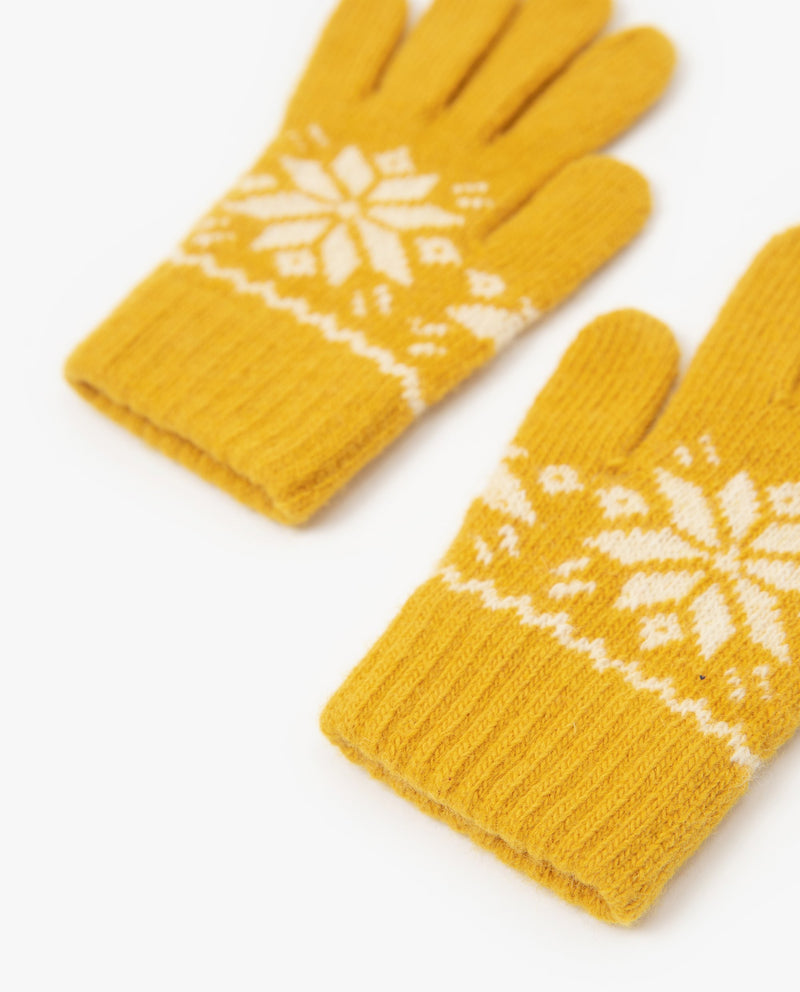 [Out of Stock] Snowflake Gloves