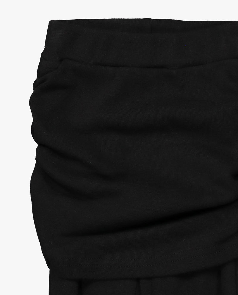 [Out of Stock] Shirred Skirted Leggings