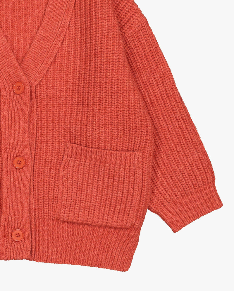 [Out of Stock] Square Pocket Cardigan